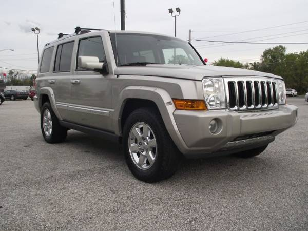 Insurance Rate for 2008 Jeep Commander Overland 4WD - Average Quote $120 per Month