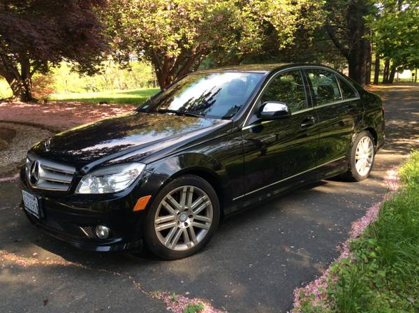 Insurance Rate for 2008 Mercedes-Benz C-Class - Average Quote $117 per Month
