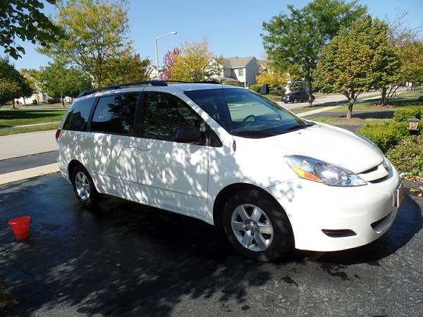 Insurance Rate for 2008 Toyota Sienna LE FWD 7-Passenger Seating - Average Quote $97 per Month