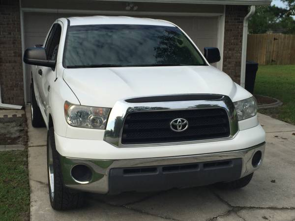 Insurance Rate for 2008 Toyota Tundra SR5 Double Cab 4.7L 2WD - Average Quote $144 per Month
