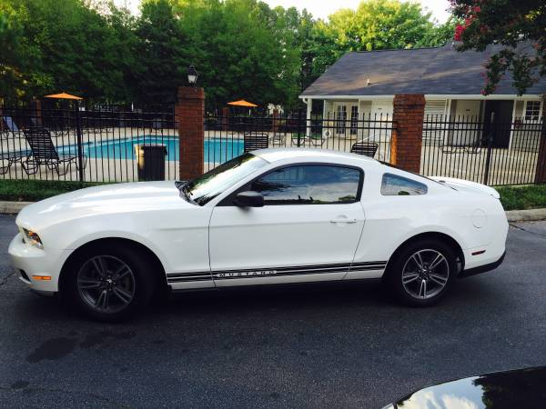Insurance Rate for 2010 Ford Mustang - Average Quote $116 per Month