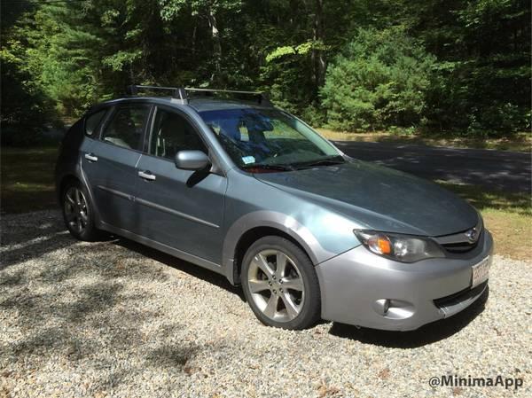 Insurance Rate for 2010 Subaru Impreza Outback Sport - Average Quote $109 per Month