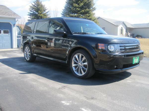 Insurance Rate for 2011 Ford Flex Limited FWD - Average Quote $160 per Month