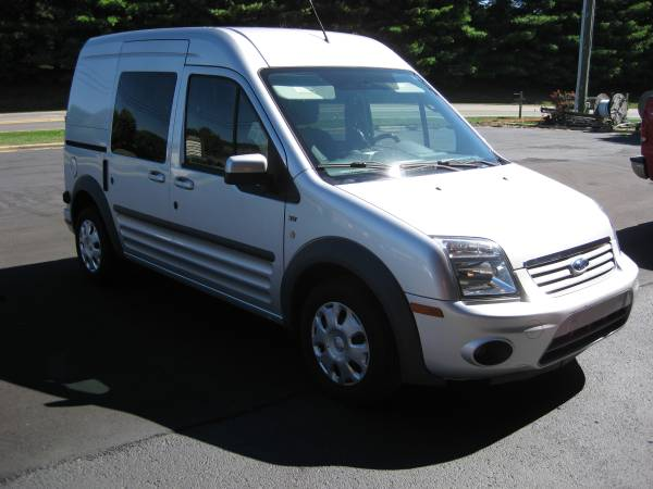 Insurance Rate for 2011 Ford Transit Connect XLT Wagon - Average Quote $120 per Month