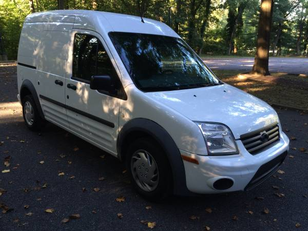 Insurance Rate for 2011 Ford Transit Connect XLT with Rear Door Glass - Average Quote $118 per Month