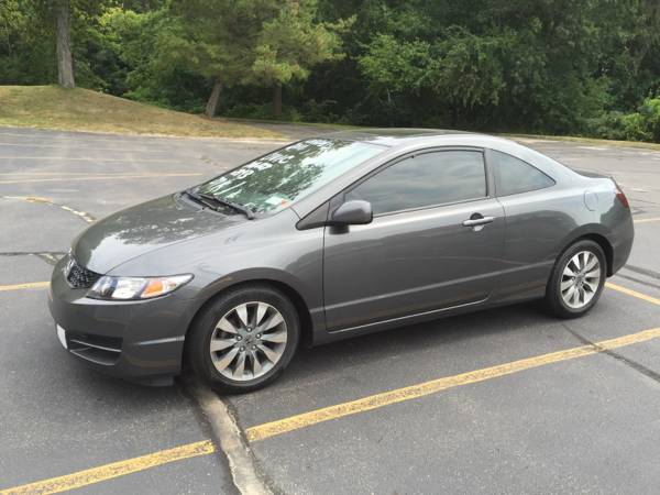 Insurance Rate for 2011 Honda Civic - Average Quote $93 per Month