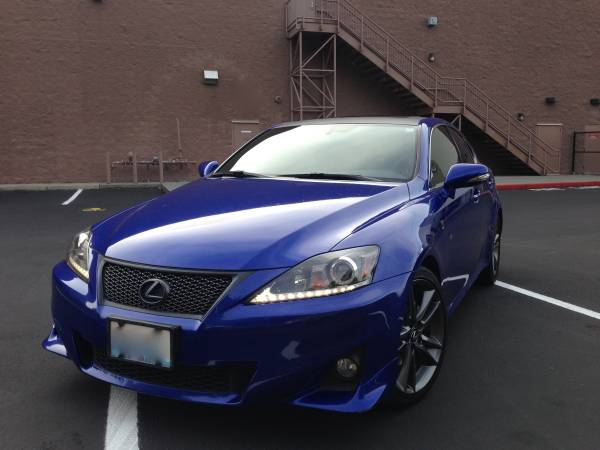Insurance Rate for 2011 Lexus IS - Average Quote $170 per Month