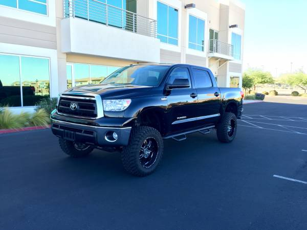 Insurance Rate for 2011 Toyota Tundra Tundra-Grade CrewMax 5.7L FFV 4WD - Average Quote $243 per Month
