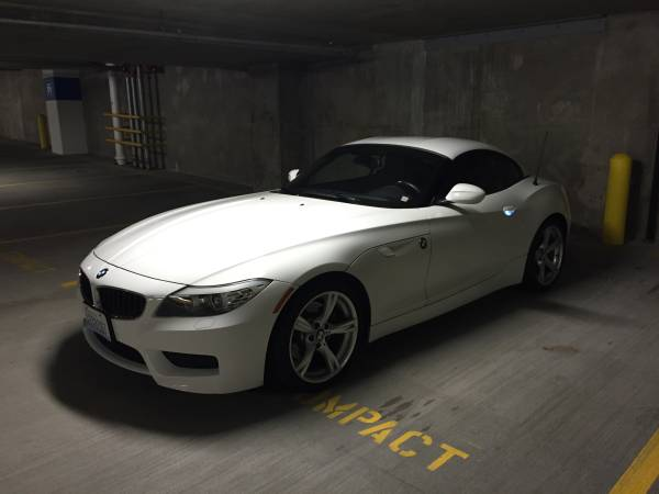 Insurance Rate for 2012 BMW Z4 sDrive28i - Average Quote $237 per Month
