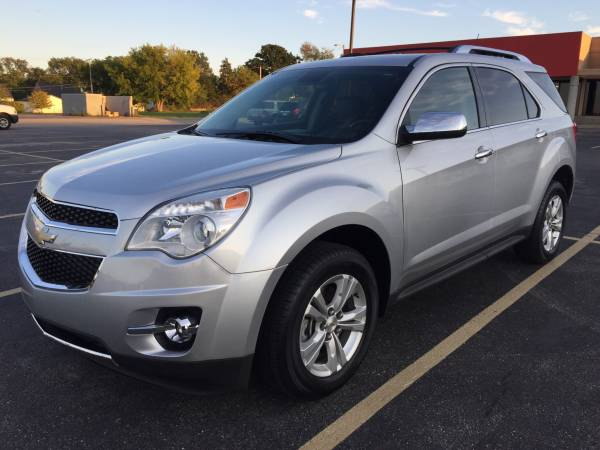Insurance Rate for 2012 Chevrolet Equinox LTZ AWD - Average Quote $177 per Month