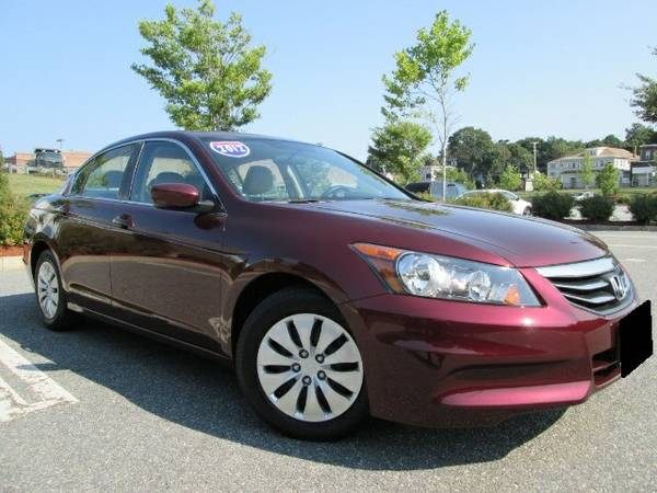 Insurance Rate for 2012 Honda Accord LX Sedan AT - Average Quote $115 per Month