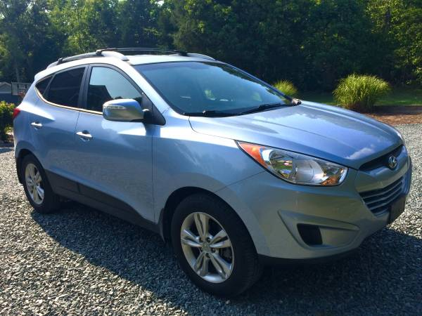 Insurance Rate for 2012 Hyundai Tucson Limited Auto AWD - Average Quote $142 per Month
