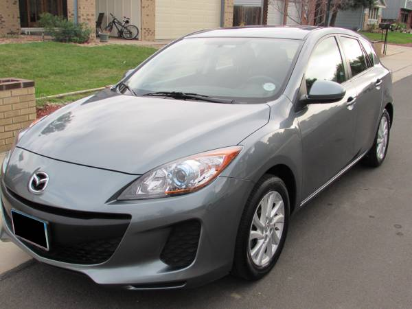 Insurance Rate for 2012 Mazda MAZDA3 I Touring 5-Door - Average Quote $113 per Month