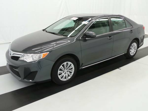 Insurance Rate for 2012 Toyota Camry Base 6-Spd AT - Average Quote $122 per Month