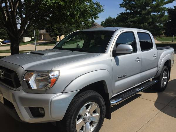 Insurance Rate for 2012 Toyota Tacoma - Average Quote $234 per Month