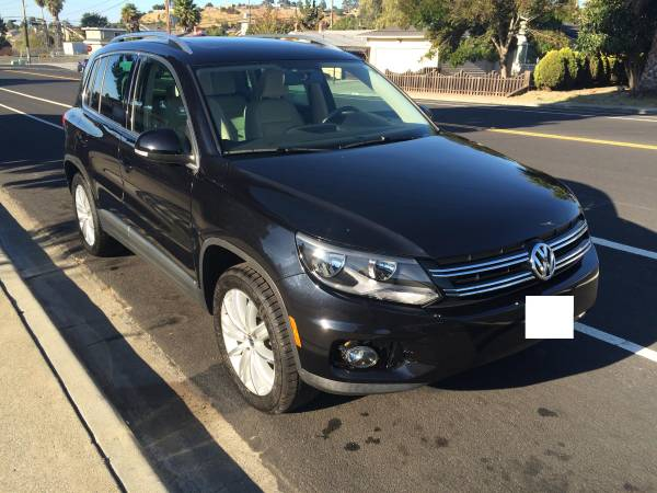 Insurance Rate for 2012 Volkswagen Tiguan - Average Quote $140 per Month