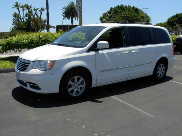 Insurance Rate for 2013 Chrysler Town & Country Touring - Average Quote $168 per Month