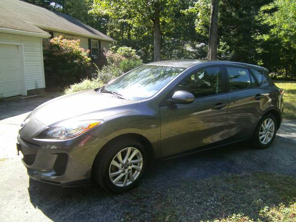 Insurance Rate for 2013 Mazda MAZDA3 I Touring 5-Door - Average Quote $126 per Month