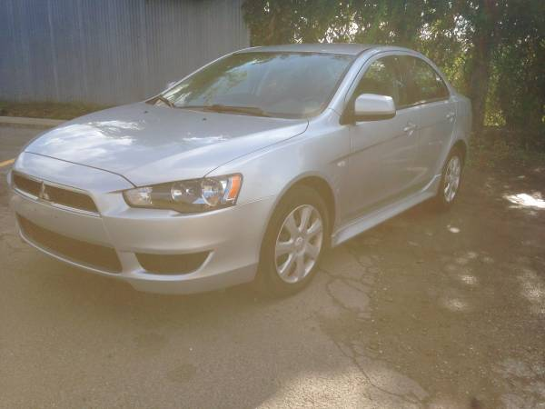 Insurance Rate for 2013 Mitsubishi Lancer ES - Average Quote $77 per Month
