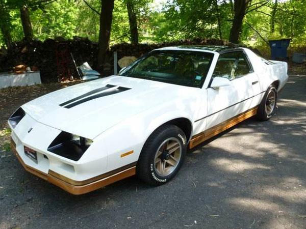 1983 Chevrolet Camaro Insurance $100 Per Month