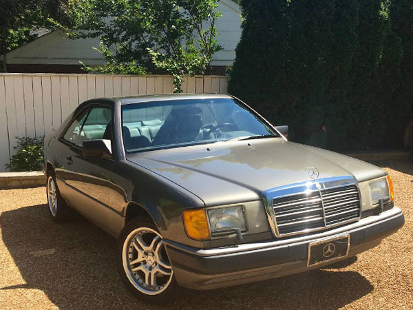 1989 Mercedes-Benz 300-Class 300CE Coupe Insurance $100 Per Month