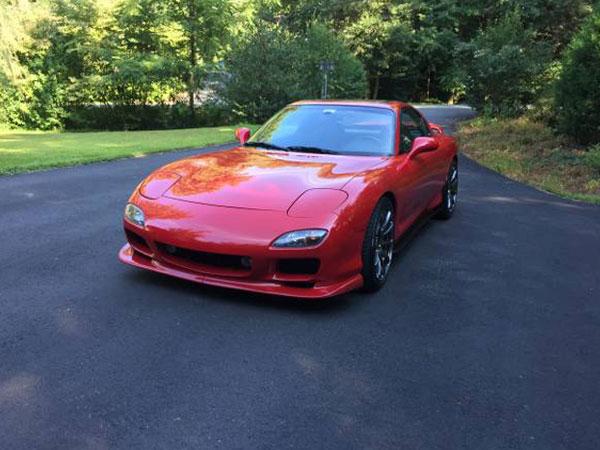 1994 Mazda RX-7 Turbo  Insurance $100 Per Month