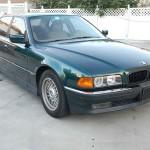 1995 BMW 7 Series 740i Insurance $100 Per Month