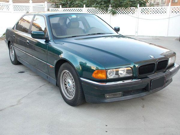 1995 BMW 7 Series 740i Insurance $100 Per Month