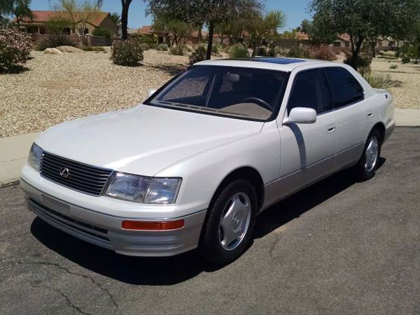 1997 Lexus LS 400   Insurance $100 Per Month