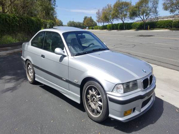 1998 BMW M3 Coupe Insurance $100 Per Month