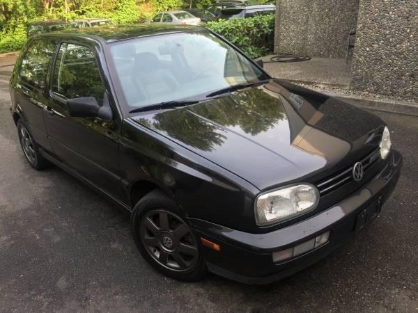 1998 Volkswagen GTI VR6 Insurance $100 Per Month