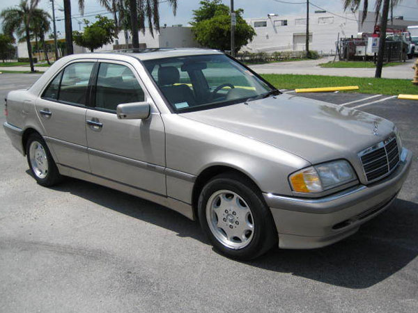 2000 Mercedes-Benz C-Class 4 Dr C230  Supercharge Insurance $100 Per Month