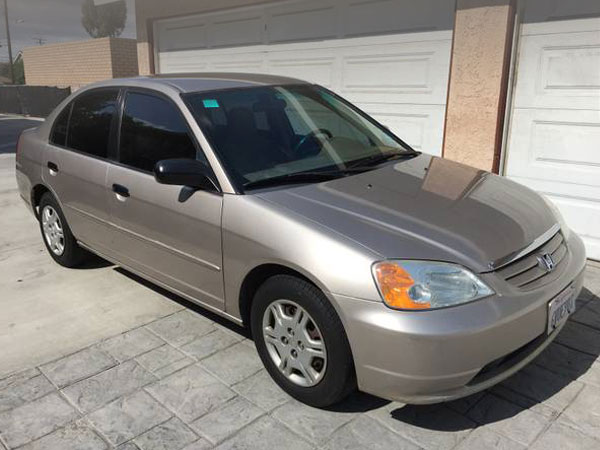 2001 Honda Civic LX Insurance $100 Per Month