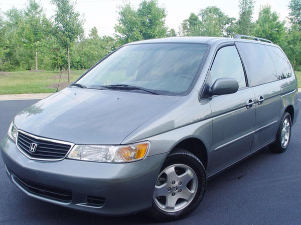 2001 Honda Odyssey EX  Insurance $100 Per Month