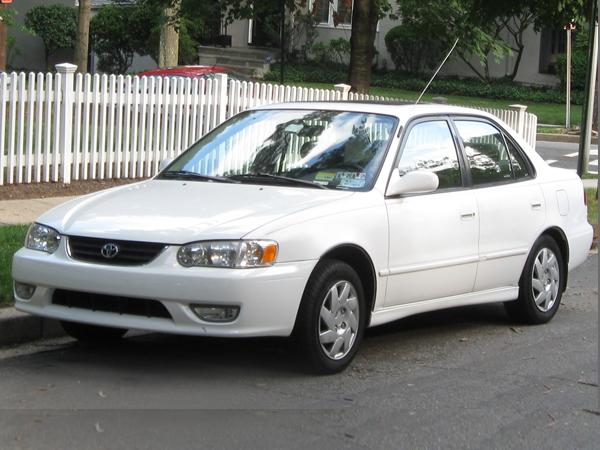 2001 Toyota Corolla Insurance 105 Per Month