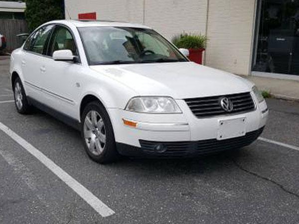 2001 Volkswagen Passat GLX Insurance $100 Per Month