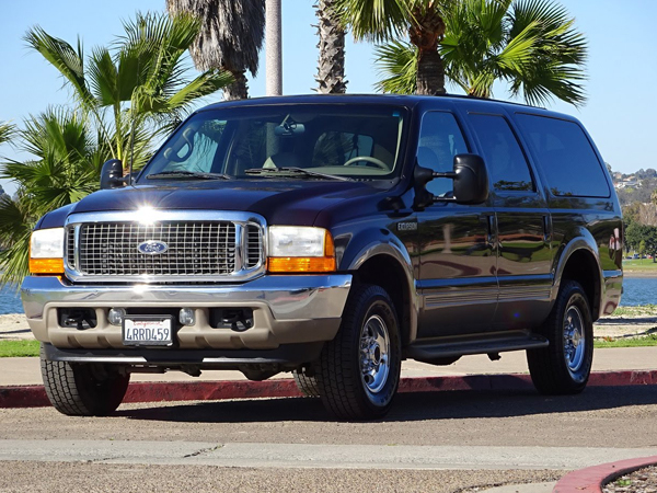 2002 Ford Excursion Limited 4WD Insurance $100 Per Month
