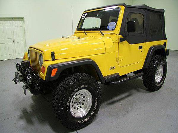 2002 Jeep Wrangler Sport  Insurance $90 Per Month