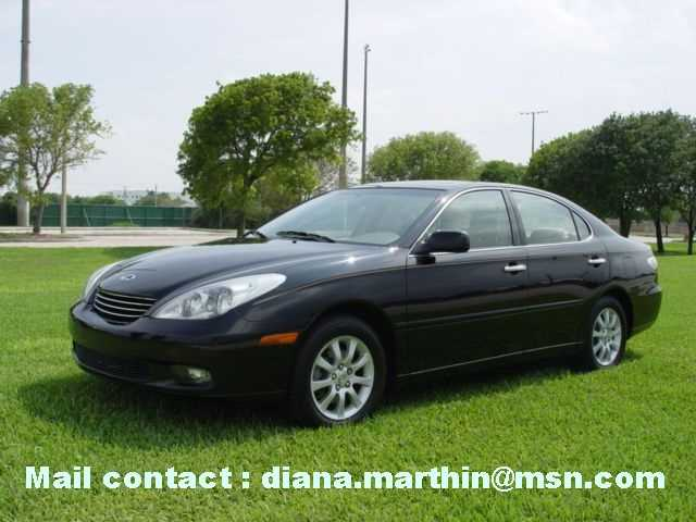 2002 Lexus ES 300 Base   Insurance $57 Per Month
