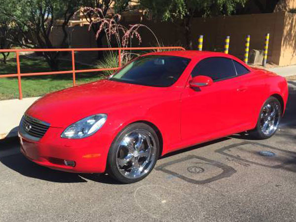 2002 Lexus SC 430 Base   Insurance $101 Per Month