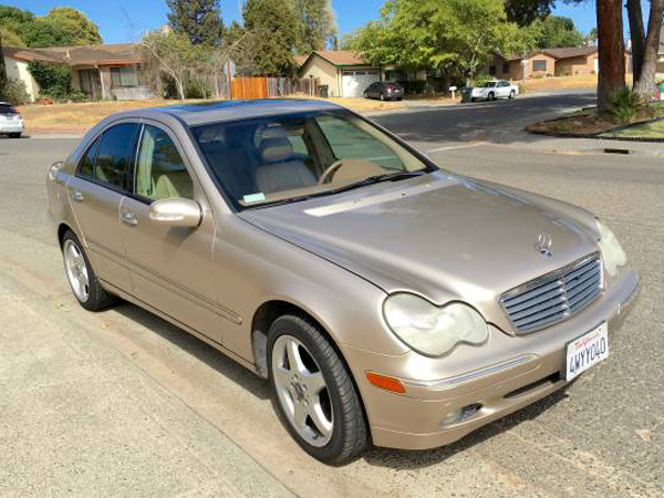 2002 Mercedes-Benz C-Class Insurance $100 Per Month