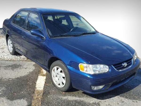 2002 Toyota Corolla Insurance $100 Per Month