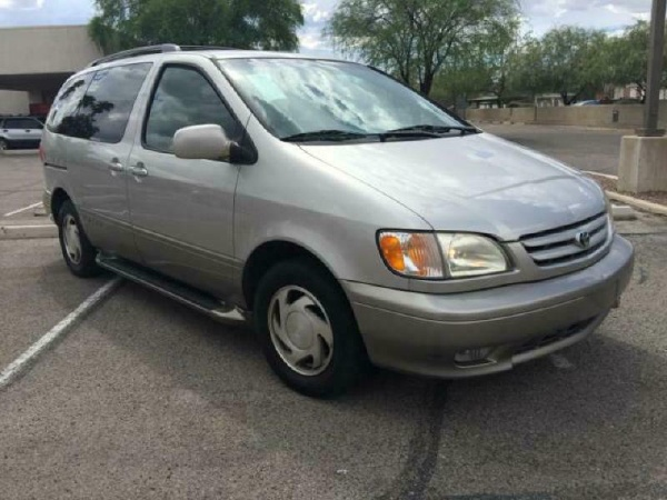 2002 Toyota Sienna Insurance $100 Per Month