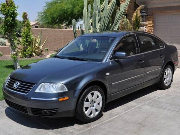 2002 Volkswagen Passat GLX Insurance $100 Per Month