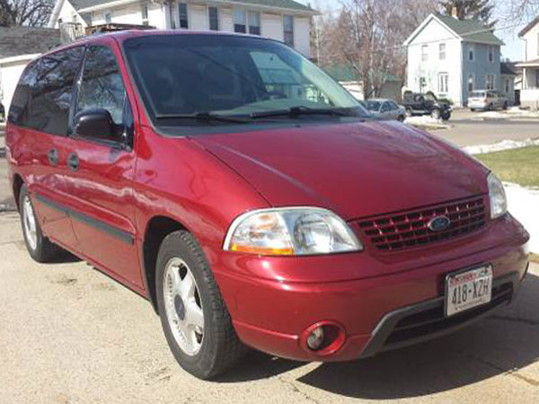 2003 Ford Windstar LX Insurance $100 Per Month
