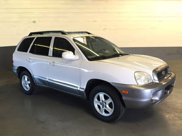 2003 Hyundai Santa Fe  Insurance $100 Per Month