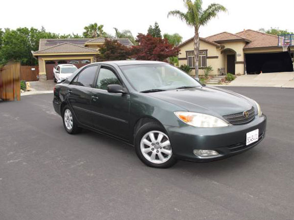 2003 Toyota Camry  Insurance $100 Per Month
