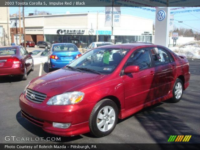 2003 Toyota Corolla Insurance 101 Per Month