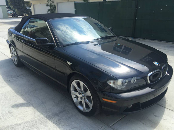 2004 BMW 3 Series 325 Ci Convertible Insurance $60 Per Month