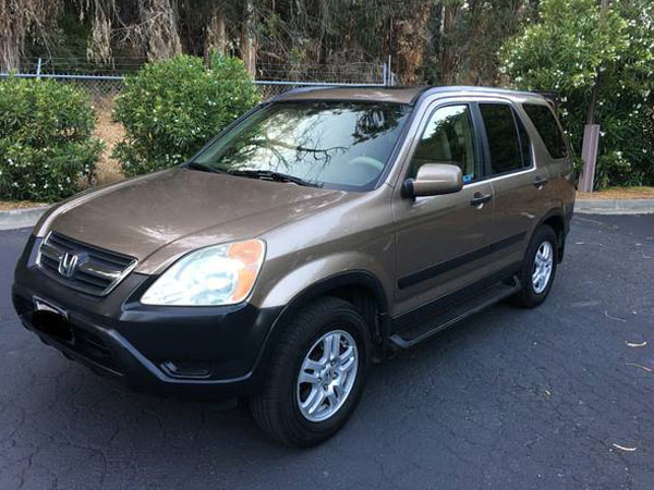 2004 Honda CR- V  EX AWD Insurance $63 Per Month